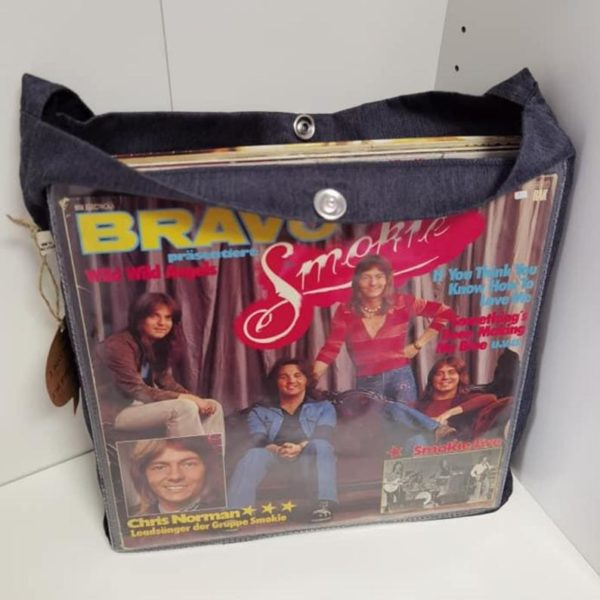 Upcycling Record Bag
